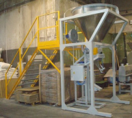loose material packing technological lines packers scales control systems Poland